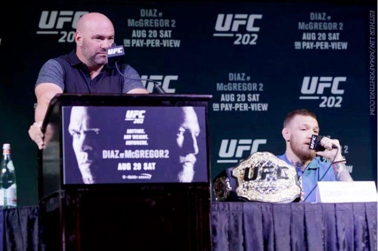 White: Nëse McGregor vendos të rikthehet në shtator, do t'i heqim titullin