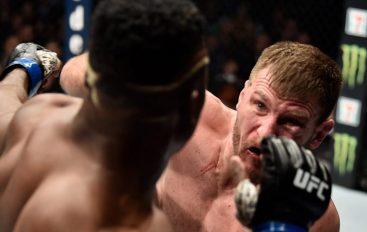 """Miocic i jep leksion """"bishës"""" Ngannou, shkruan historinë e UFC"""