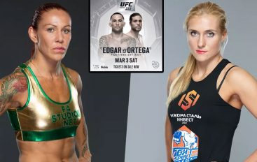 Zyrtare, Cyborg vs. Kunitskaya, Edgar vs. Ortega në UFC 222