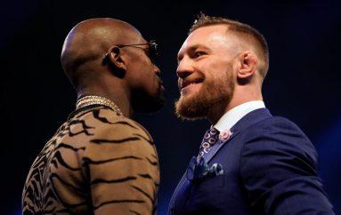 Mayweather provokon sërish McGregor: Unë vrasës, t'i një kurvë