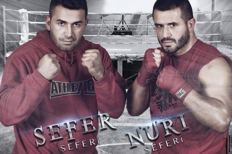 Dy shqiponjat shqiptare kundër boksierëve afrikan