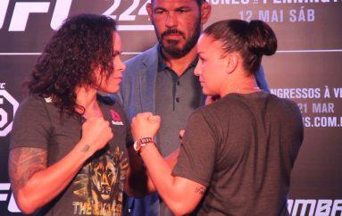 """Nunes dhe Pennington """"face to face"""" në Brazil, sfidë për titull në UFC-224"""
