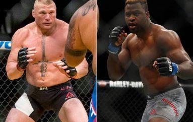 """Ngannou sfidon Brock Lesnar për """"ndeshjen e ëndrrave"""""""