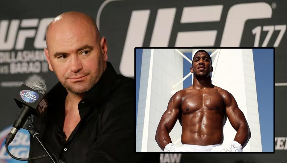 White do Anthony Joshua në UFC, gati t'i ofrojë një shumë të çmendur