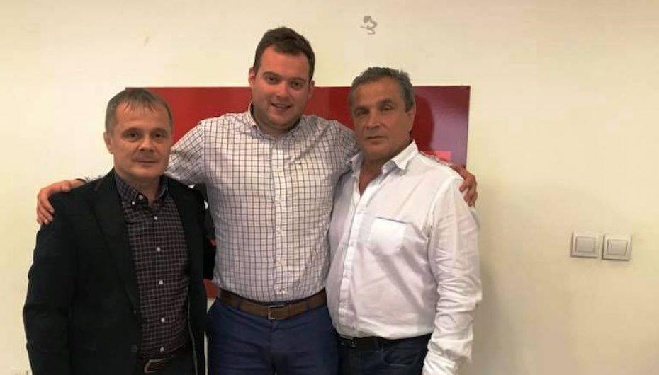 Shaban Sejdi e Shorov në takim me Darko Kaevski