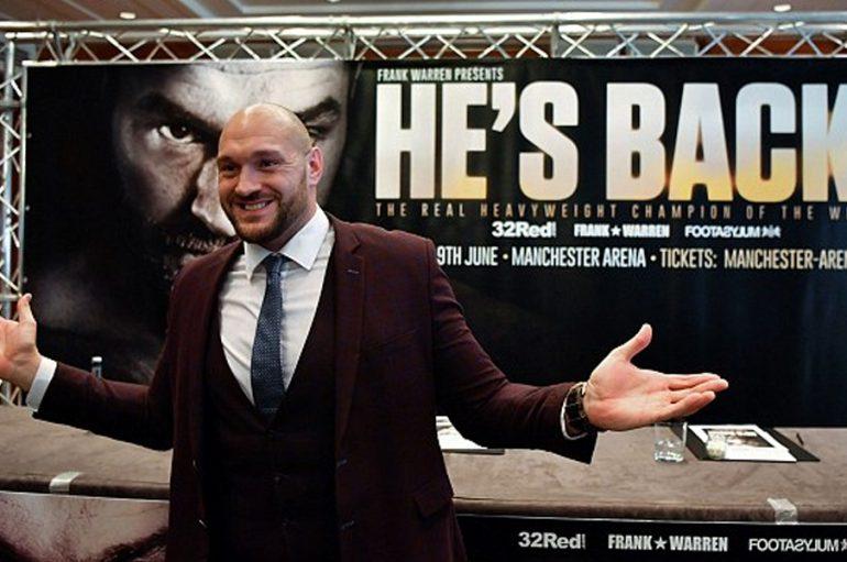 Boksieri shqiptar pretendon se do të ndeshet me Tyson Fury