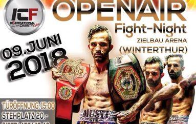 Spektakël i madh në Winerthur, Mustaf Kicaj ndeshje lamtumirës me serbin