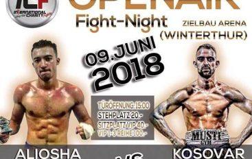 Kosovar Kicaj ndeshet për titull Zvicre më 9 qershor në Winterthur