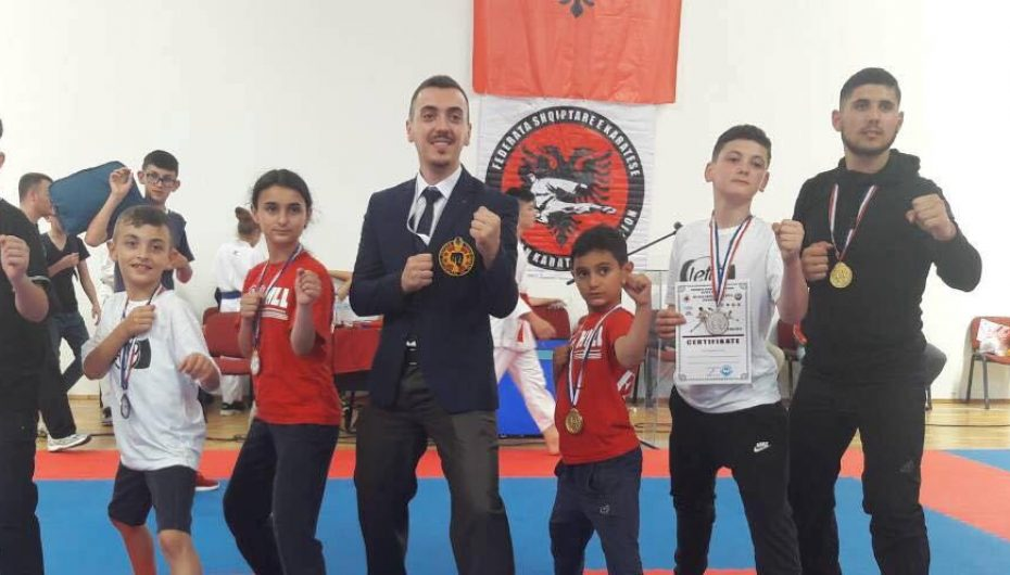 Gjashtë medalje për KK Fati nga Shqipëria