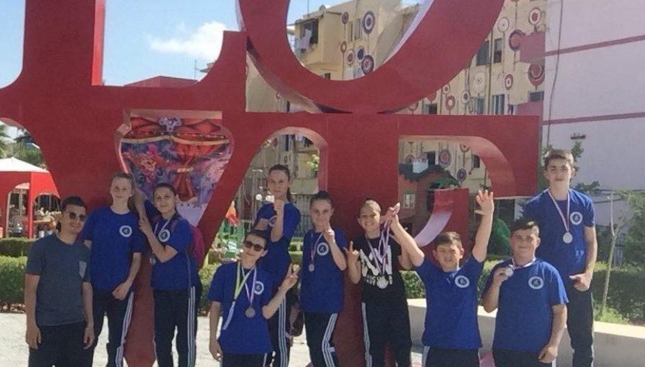 """KK""""Drini"""" kthehet me 12 medalje nga Lushnja"""