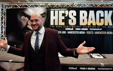 Fury: Do t'i shtyp të gjithë boksierët e peshës së rëndë