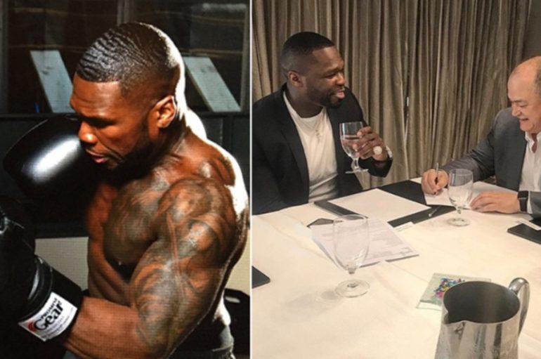 50 Cent pranë debutimit në MMA ndaj Rampage Jackson