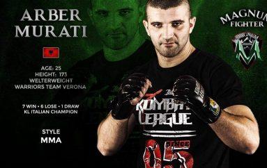 Arber Murati djaloshi që synon UFC