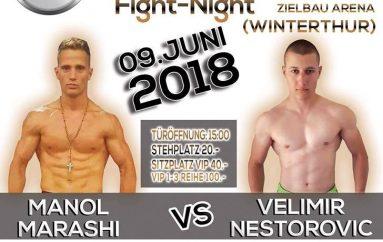 Marashi: Do ta shkatërroj serbin më 9 qershor në Winterthur
