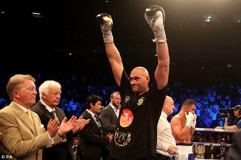 Fury sërish në ring pas 2 muajsh, më 18 gusht në Belfast