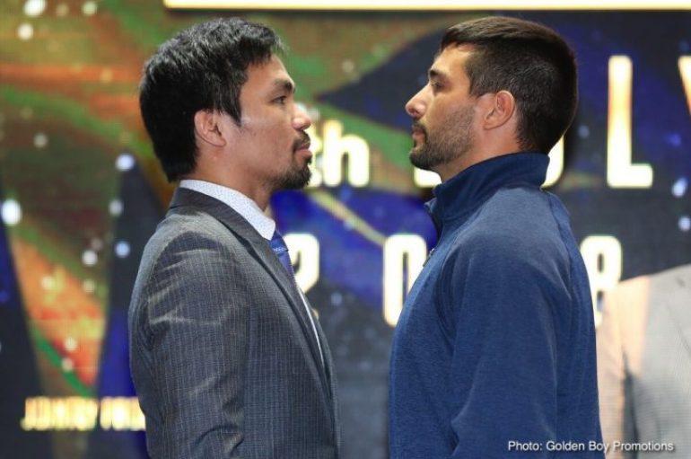 Pacquiao: Gati për duelin ndaj Matthysse, do të rikthehem kampion