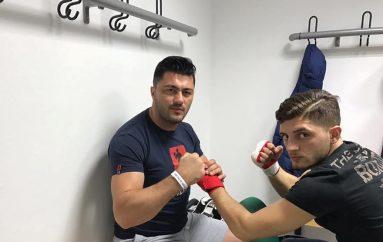 Talenti Shpat Duraku kundër serbit në Kërçovë