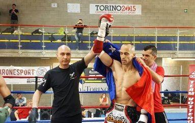 """Ervis Bici, """"shqiponja e zezë"""" që do lufton për titull Evrope"""