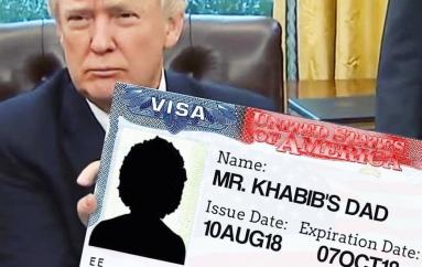 Trump plotëson dëshirën e Khabib, babai merr vizë amerikane për UFC-229
