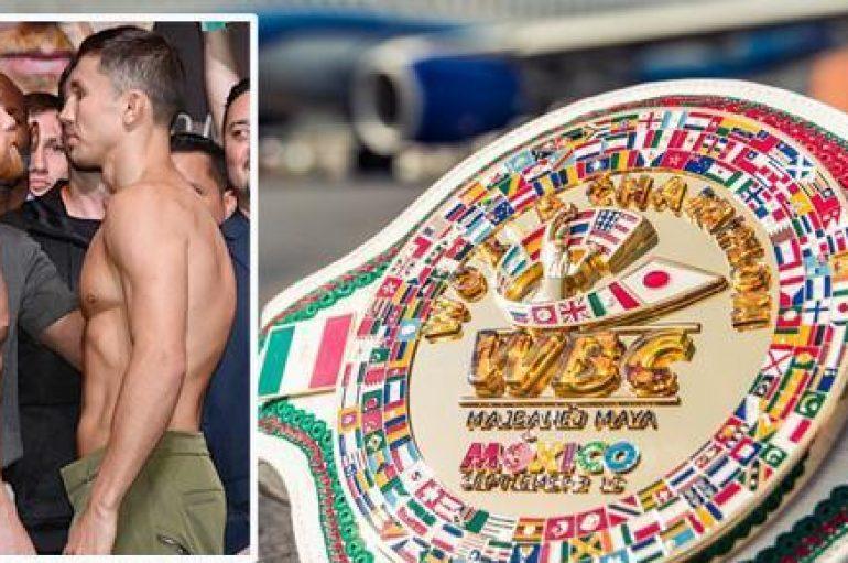 WBC përgatit një gjerdan të veçantë për duelin mes Golovkin dhe Alvarez
