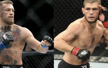 UFC publikon posterin zyrtar të Khabib vs. McGregor