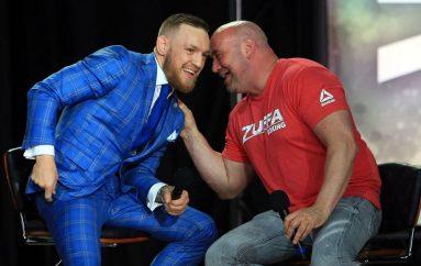 Dana White lavdëron McGregor