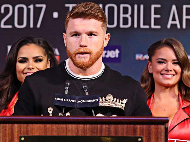 Alvarez shtyn sfidën e tretë me  Triple G   në ring që në dhjetor