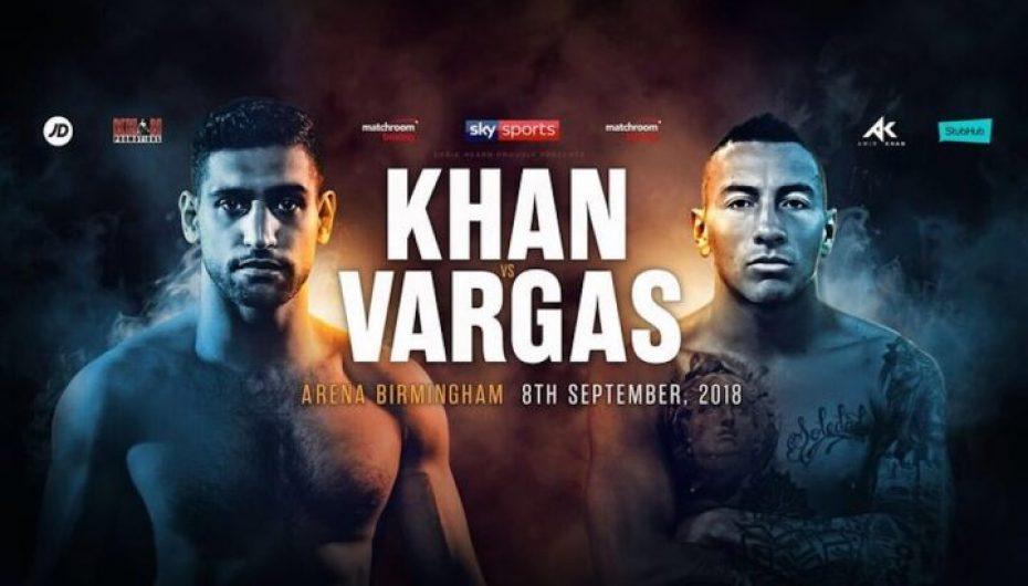 """Khan vs Vargas/ Ndeshja """"jetë a vdekje"""" për garën për titull"""