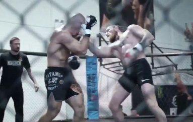 McGregor poston videon e parë të stërvitjes në prag të UFC 229