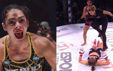 """UFC nënshkruan me """"Mbretëreshën e Dhunshme"""""""