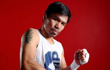 Manny Pacquiao sërish në ring në janar