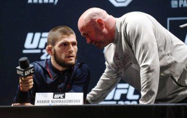 White qetëson fansat: Khabib nuk do të largohet nga UFC-ja