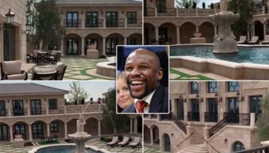 Një shtëpi si të Mayweather do ta donin të gjithë…