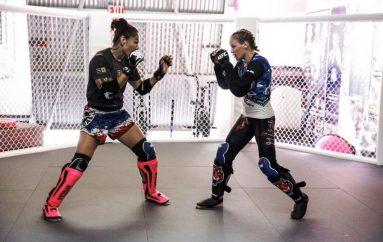 Shevchenko stërvitje me Cyborg para duelit për titull ndaj Jedrzejczyk