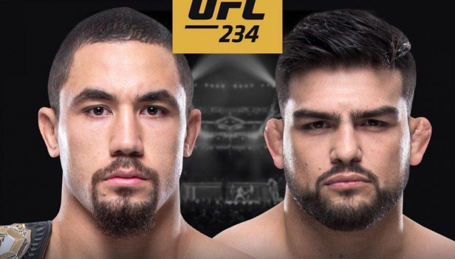 Whittaker vs. Gastelum konfirmohet për UFC 234 në Melbourne