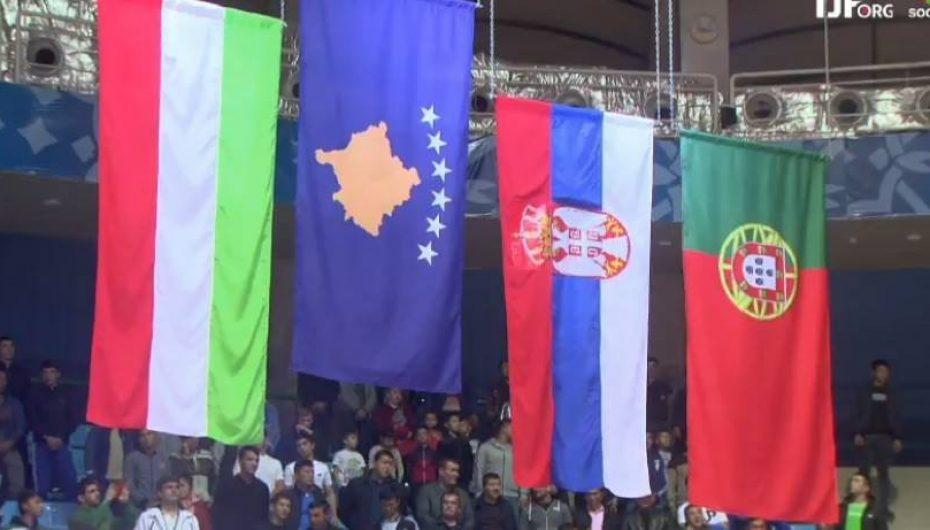 Flamuri i Kosovës para atij të Serbisë, kallen serbët! Milica pas shqiptares