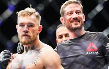 Tërhiqet trajneri i McGregor: S'ka nevojë për mua, nuk do ta trajnoj më