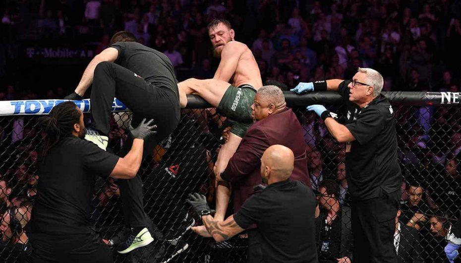 Komisioni vendos të hënën për Khabib dhe McGregor pas incidentit në UFC-229