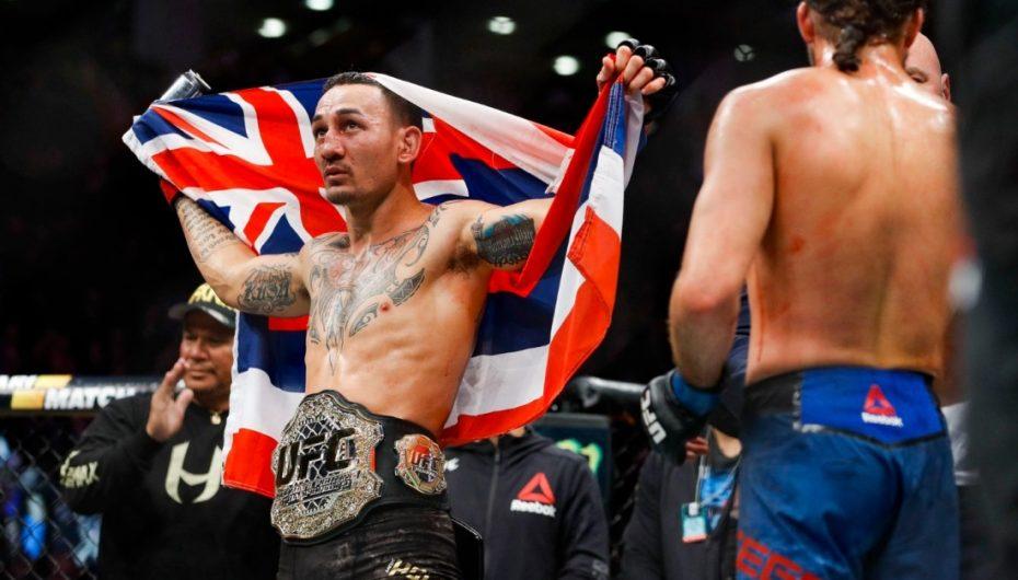 """Holloway mposht Ortega , konfirmohet mbret i peshës """"featherweight"""""""