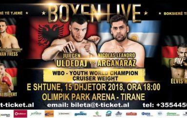 Titulli WBO Youth, Jurgen Uldedaj gati për hapin e madh të karrierës