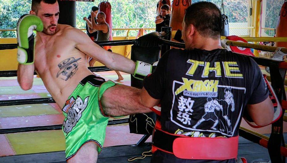 Fatmir Gordi përgatitje në Tajlandë për Enfusion