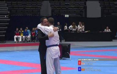 Doan Osmani, Kampion i ri i Europës në karate