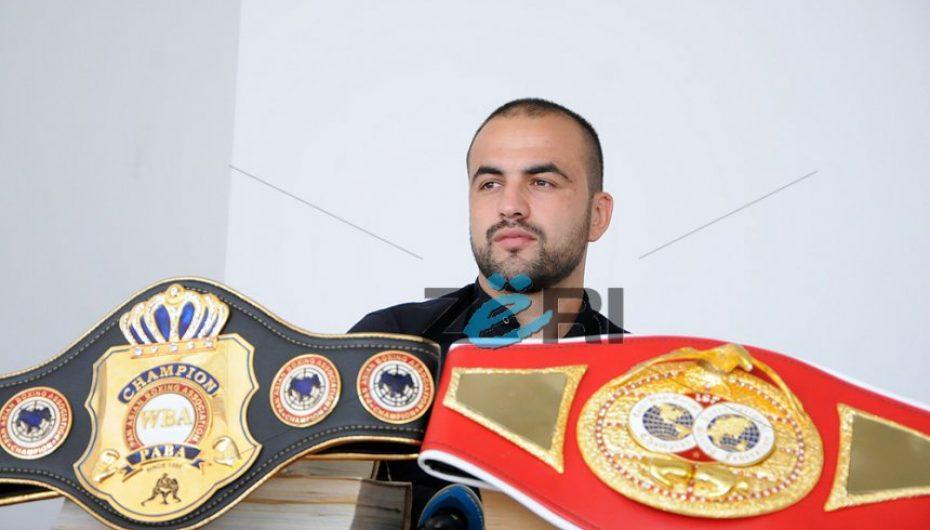 Shefat Isufi ndeshet për titull WBO të botës