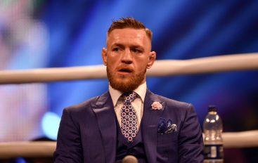 McGregor sulmon luftëtarin: Çfarë do ai krimb me brez në shpatull