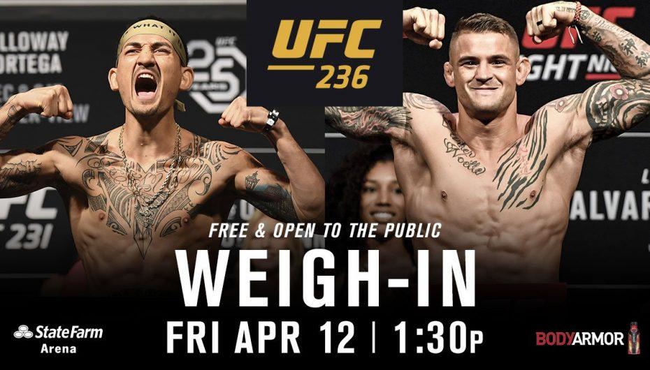 UFC 236, dy duele për titullin e përkohshëm kampion bote