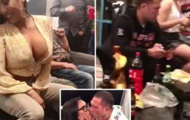 Pas puthjes kontraverse ndaj gazetares në transmetim direkt, boksieri bën veprimin e papritur