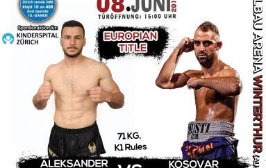 Kicaj vs Kallashi, duel i flaktë dhe miqësorë për titull Evrope SPF