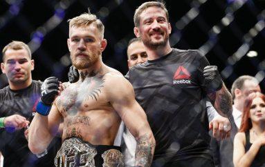 McGregor i bashkohet trajnerit historik, gati për rikthimin në kafaz