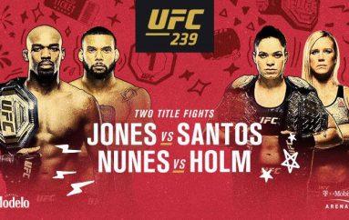 UFC 239 më në fund ka një poster zyrtar