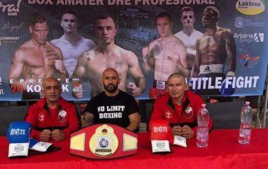 Gallë e boksit profesionist në Tetovë